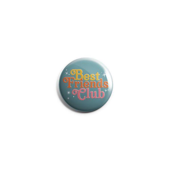 Best Friends Club Button