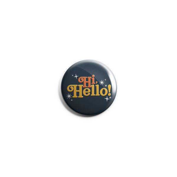 Hi Hello Button